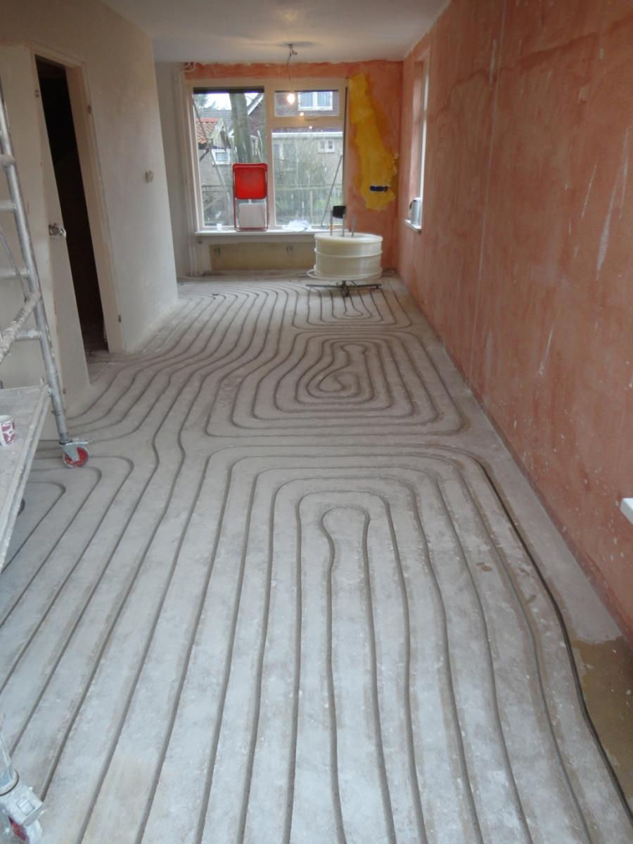 Vloerverwarming | Lageschaar bv, Verbouw, Badkamer & Keukenmontage